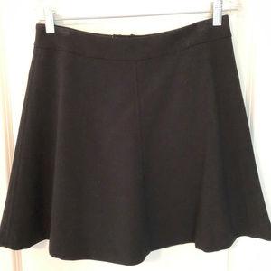 Ann Taylor Loft Black Skirt Sz 6